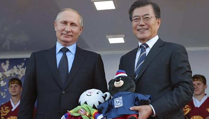 Президент Южной Кореи принял приглашение В. Путина посетить Российскую Федерацию