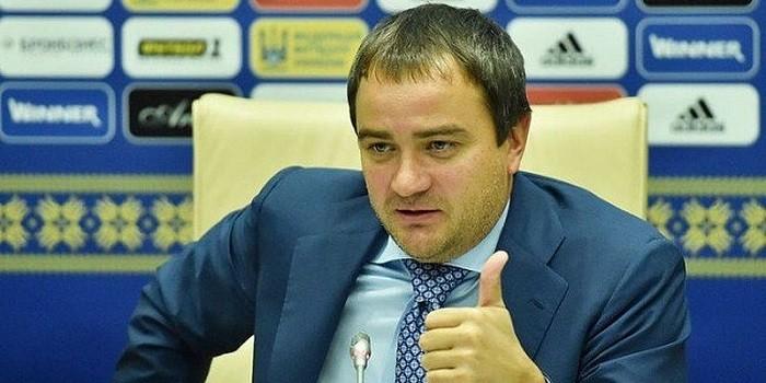 Глава ФФУ Андрей Павелко. Фото: Телеграф