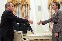 Собчак попросила Путина помиловать 16 заключенных
