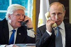 Трамп позвонил Путину, поздравил с победой и хочет встречи