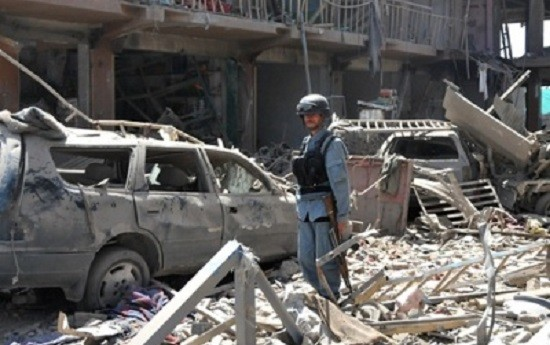 При взрыве вКабуле пострадали неменее девять человек