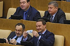 Как минимум раз в неделю депутаты Госдумы «кошмарят» бизнес