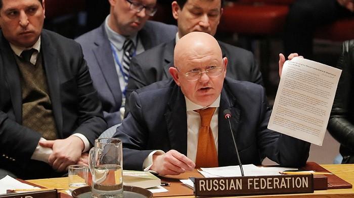 Постпред РФ при ООН Василий Небензя. Фото: Reuters