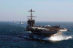 В Средиземное море движется ударная группа ВМС США с авианосцем «Гарри Трумэн»