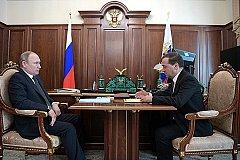 «Абсолютно стабильной» назвал Медведев ситуацию в экономике России
