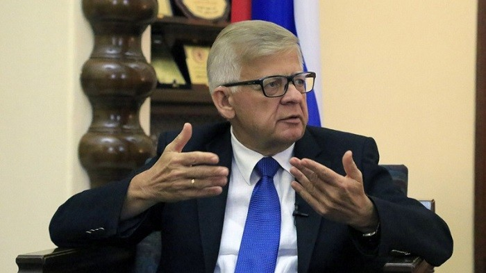 Посол РФ в Ливане Александр Засыпкин. Фото: parstoday.com