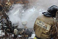 Шесть человек погибли в крушении вертолета в Хабаровске
