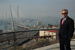 Владивосток восхитил посла США Хантсмана