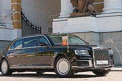 Песков: новый автомобиль проекта «Кортеж» Путину понравился
