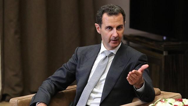 Президент Сирии Башар Асад. Фото: ria.ru