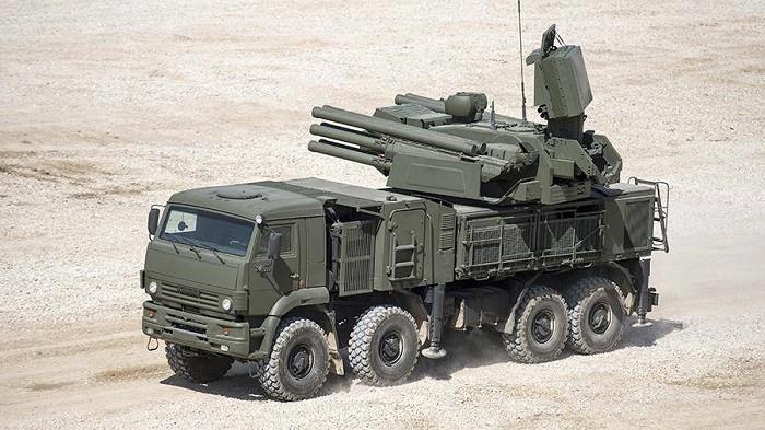 Зенитный ракетно-пушечный комплекс (ЗРПК) «Панцирь-С1»