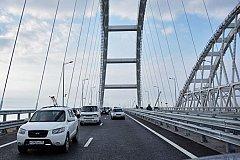 Крымский мост бьёт рекорды по количеству машин