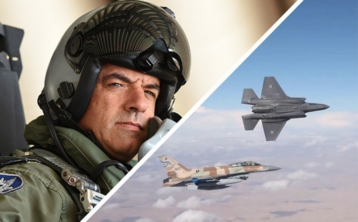 На фото генерал-майора ВВС Израиля Амикам Норкин