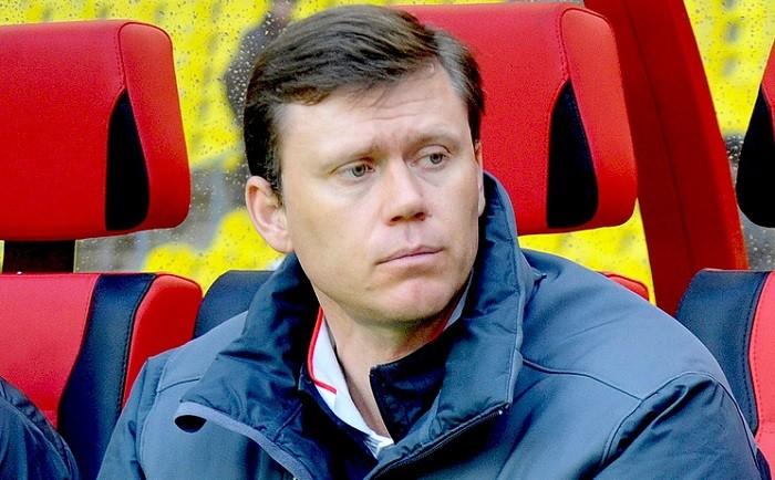 Тренер грозненского футбольного клуба «Ахмат» Игорь Ледяхов. Фото: ТАСС