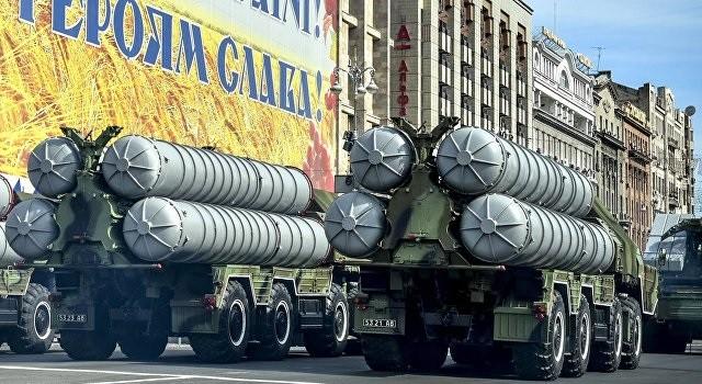 ЗРК С-300 на параде в Киеве. Фото:  ukraina.ru