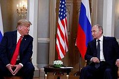 Встреча Трампа и Путина началась