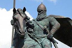 В Киеве открыли памятник «украинскому» богатырю Илье Муромцу