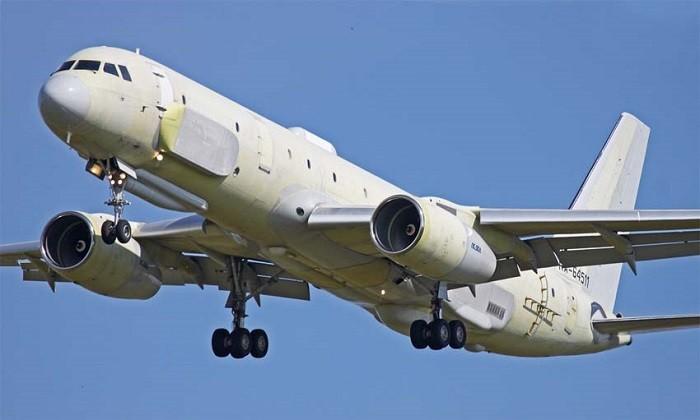 Самолёт стратегической радиолокационной, радиотехнической, радиоэлектронной и оптико-электронной разведки Ту-214Р