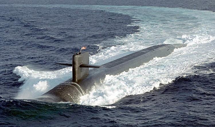 Атомная подводная лодка типа «Огайо»