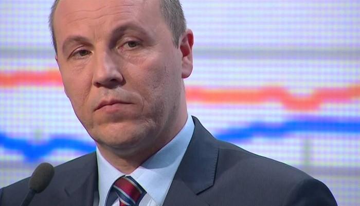 Спикер Верховной рады Украины Андрей Парубий. Фото:  sharij.net