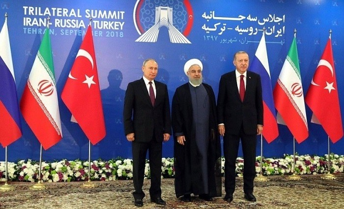 Путин и главы Ирана и Турции обсудили нормализацию обстановки в Сирии фото 2