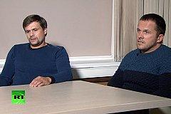 Власти Британии интервью с «отравителями» Скрипалей назвали ложью