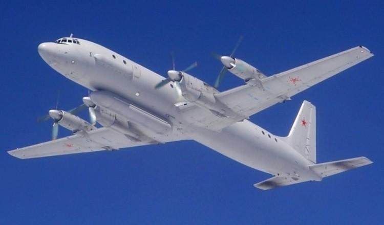 Российский разведывательный самолёт Ил-20М «Лысуха»