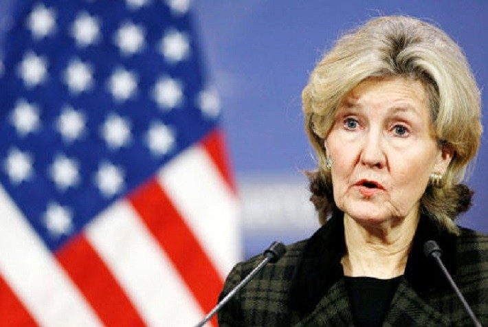 Посол США в НАТО Кей Бейли-Хатчинсон. Фото:  news.sputnik.ru