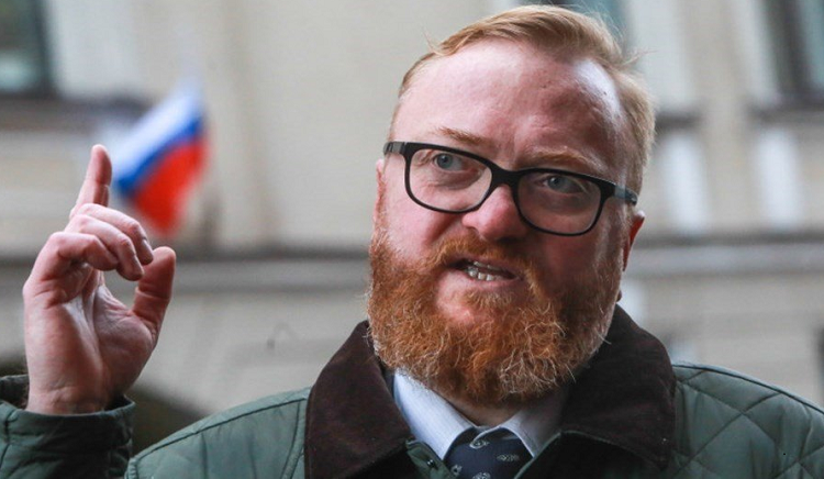 Депутат Госдумы Виталий Милонов. Фото: trezvo.org
