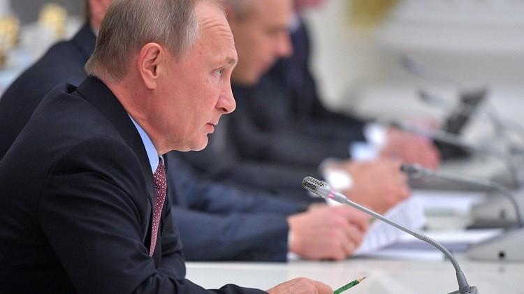 Путин встрече с представителями германских деловых кругов. Фото: kremlin.ru