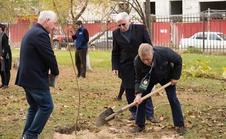 Журналисты Дагестана посадили аллею в память о погибших коллегах фото 2