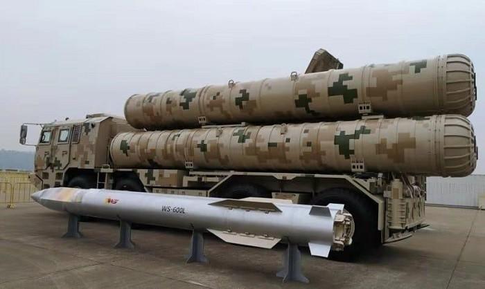 Счетверённая вертикальная пусковая установка оперативно-тактического ракетного комплекса WS-600L конструктивно практически идентична пусковым установкам ЗРК С-300ПМ-1 и HQ-9, но имеет небольшое отличие,- 13 кольцевых рёбер жёсткости на транспортно-пусковых тубусах вместо 11.