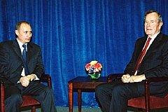Путин соболезновал по поводу смерти Джорджа Буша-старшего