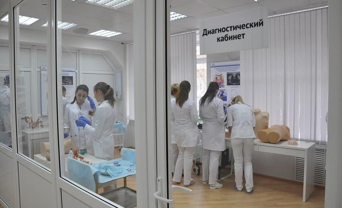 Диагностический кабинет аккредитационно-симуляционного центра по онкологии