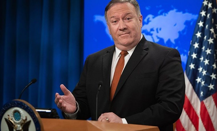 Госсекретарь США Майк Помпео. Фото:  ria.ru