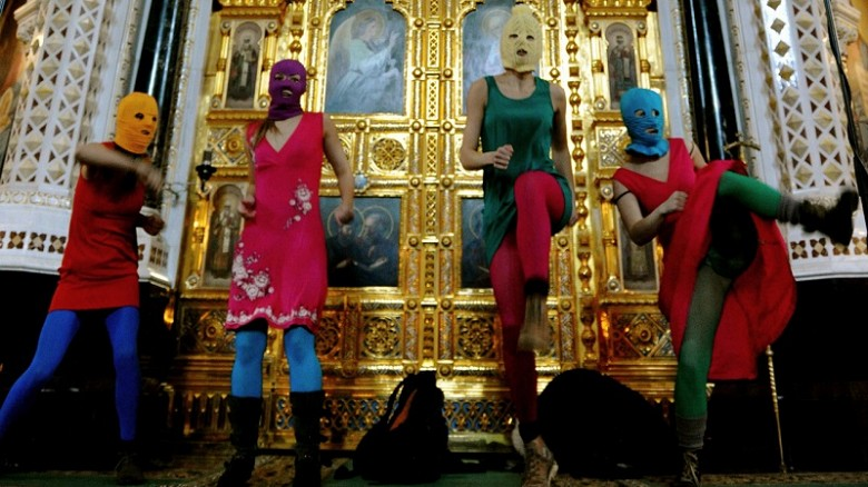 Россия выплатит компенсацию участницам Pussy Riot фото 2