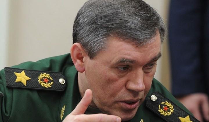 Начальник генерального штаба вооруженных сил России генерал Валерий Герасимов