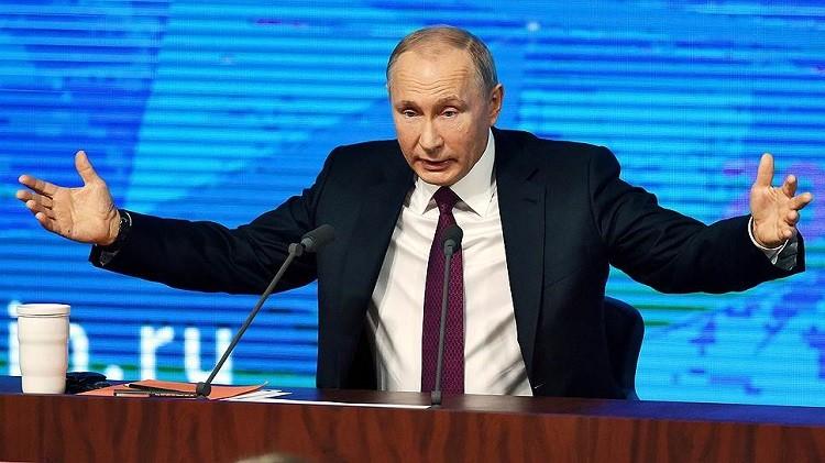 Ежегодная пресс-конференция Владимира Путина фото 2