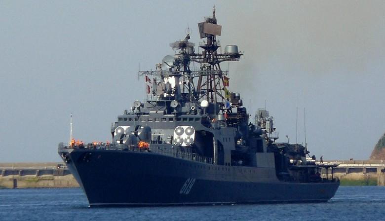 Большой противолодочный корабль Северного флота России «Североморск»