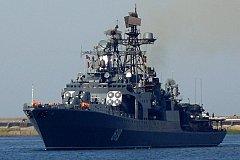 Подарок непрошенным гостям. В Черное море переброшен БПК «Североморск»