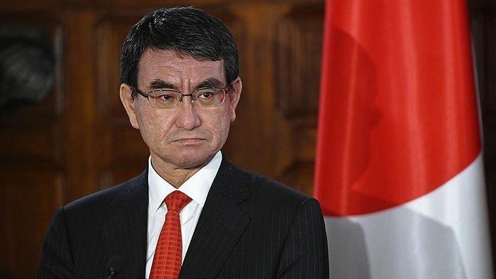 Министр иностранных дел Японии Таро Коно. Фото: relrus.ru