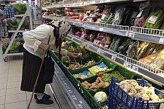 Цены на продукты в России растут в ускоренном темпе