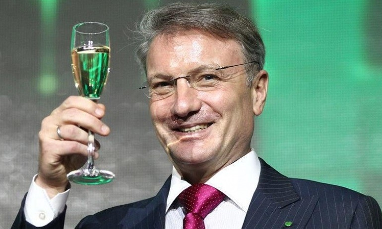 Глава Сбербанка Герман Греф. Фото: arbuztoday.ru
