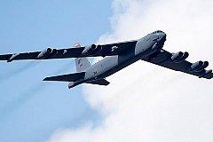Российские истребители «прогнали» бомбардировщик США. ВИДЕО