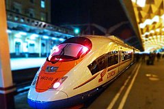 От Москвы до Питера построят еще одну высокоскоростную железную дорогу