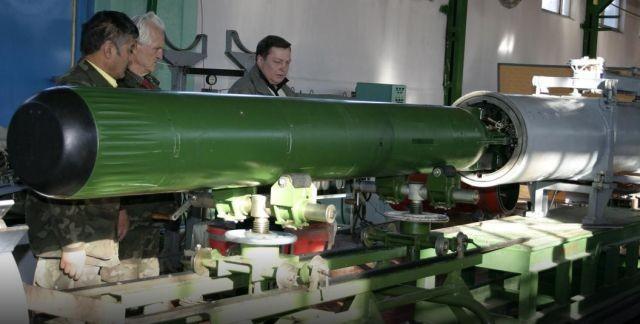 Антиторпеда комплекса активной противоторпедной защиты «Пакет-Э/НК» разработки АО «Государственное научно-производственное предприятие Регион»