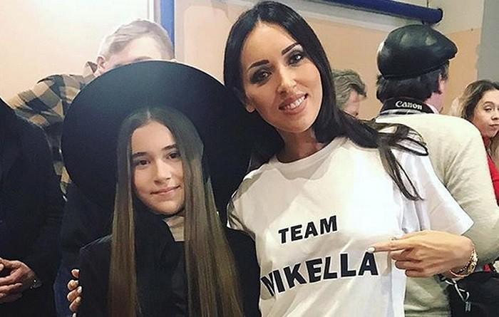 Алсу с дочерью Микеллой. Фото: kp.ru