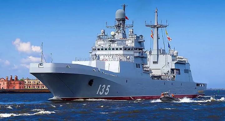 Большой десантный корабль «Иван Грен».