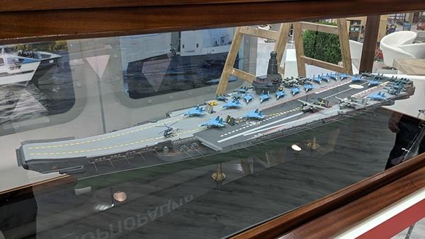 В России презентовали проект новейшего авианосца «Ламантин» фото 2