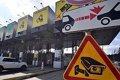 Водителей хотят штрафовать за неоплату платных дорог
